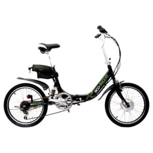 EL-Cykel Camper Svart