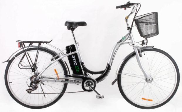 EL-Cykel Granada 28tum Silver/Svart